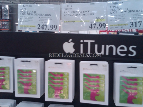 instant iphone ipad app special itunes gift cards cheap at costco elias makos. Black Bedroom Furniture Sets. Home Design Ideas